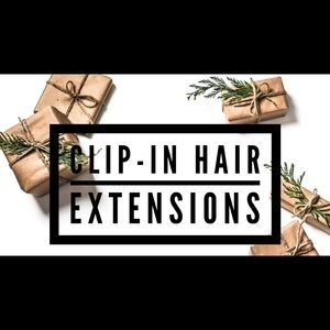 Wavy Clip-In Human Hair Extensions